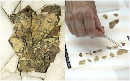 Israele, manoscritti biblici di 2mila anni fa scoperti in grotta. FOTO