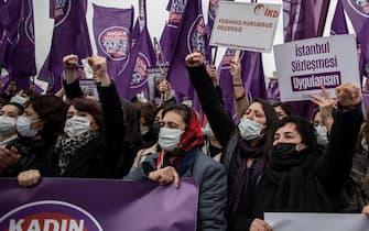 Proteste Turchia Convenzione Istanbul