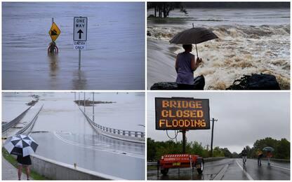 Australia: migliaia di evacuati per inondazioni, colpita Sydney. FOTO