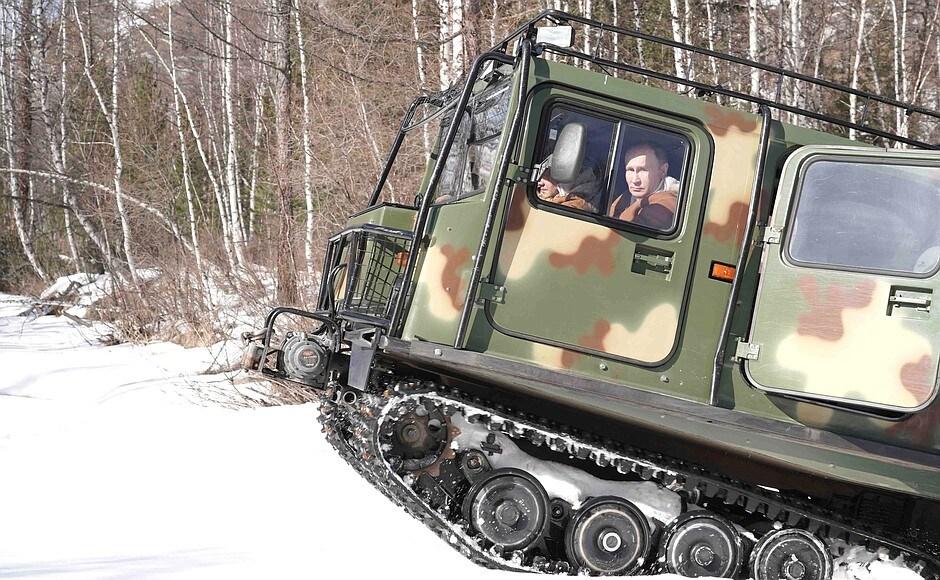Foto account Twitter ufficiale Cremlino