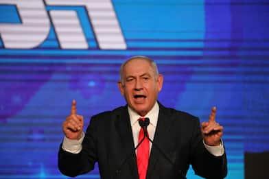 Elezioni Israele, è stallo: Netanyahu in testa ma non ha maggioranza