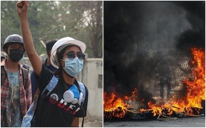Birmania, almeno 114 morti nella repressione delle proteste anti-golpe