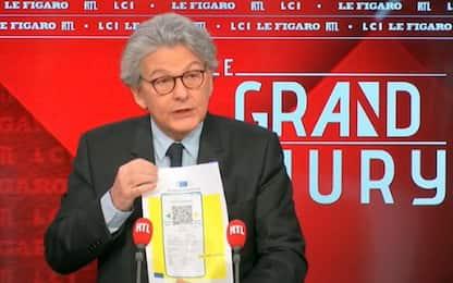 Covid, Breton: immunità gregge a luglio, passaporto sanitario a giugno