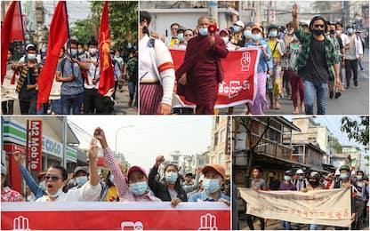 Birmania, oltre 500 morti nella repressione delle proteste anti-golpe