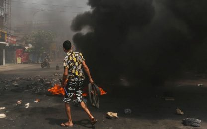 Proteste in Birmania, il bilancio delle vittime sale a quota 550