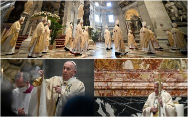 Pasqua, messa Papa