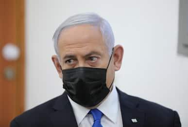 Israele, Netanyahu in tribunale a Gerusalemme