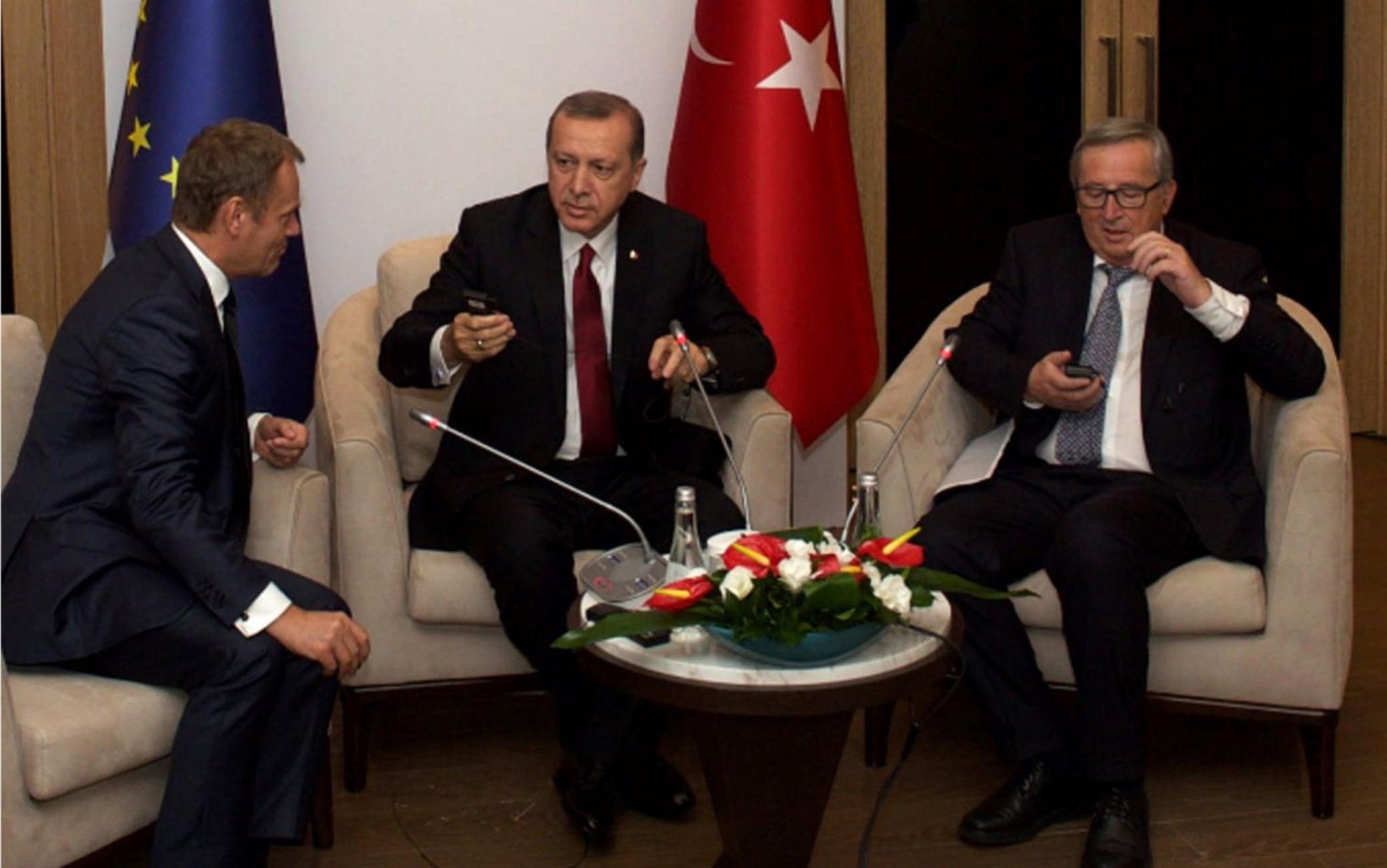 tusk juncker erdogan