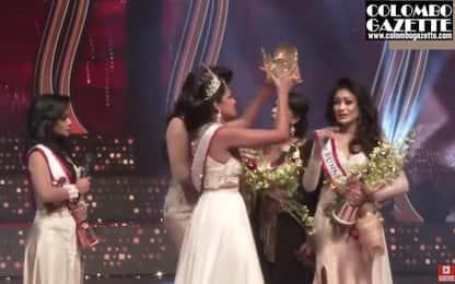 Miss Mondo Caroline Jurie arrestata dopo aggressione a Miss Sri Lanka