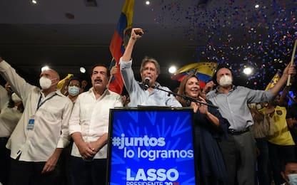Ecuador, il presidente eletto è il banchiere Guillermo Lasso