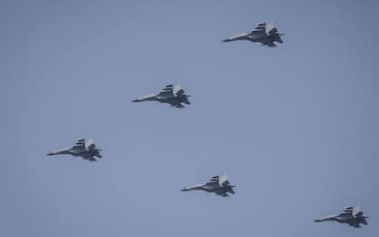 Taiwan, maxi incursione cinese, 25 jet entrano in spazio aereo