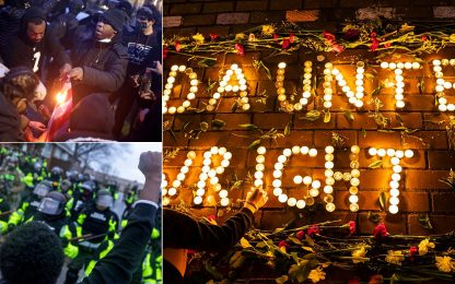 Minneapolis, proteste e arresti dopo l'omicidio di Daunte Wright. FOTO