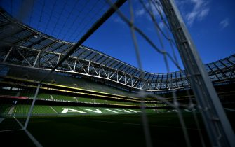 <enter caption here> during the International Friendly match between the Republic of Ireland and The United States at Aviva Stadium on June 2, 2018 in Dublin, Ireland.