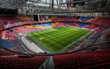 epa04407570 A view of the Amsterdam ArenA in Amsterdam, The Netherlands, 19 September 2014. The stadium will stage one quarter-final and three group matches of the UEFA Euro 2020 tournament.  EPA/REMKO DE WAAL