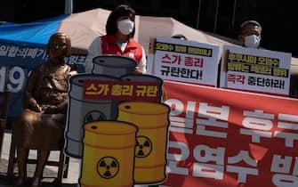 proteste fukushima seul
