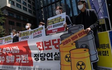 03 proteste seul fukushima ansa