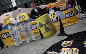 fukushima protesta seul