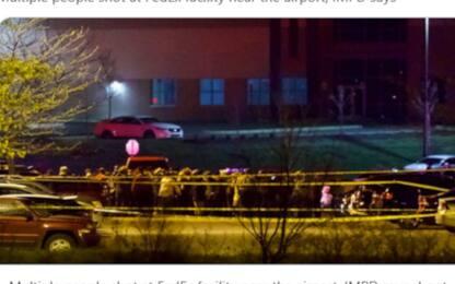 Indianapolis, sparatoria in deposito FedEx: feriti, si temono morti