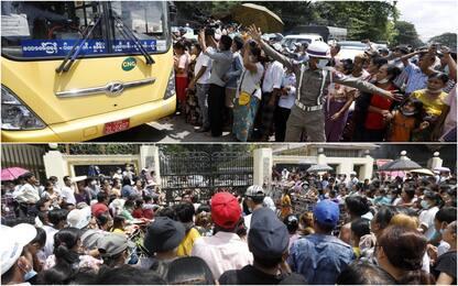 Birmania: amnistia per 23mila detenuti, non per gli oppositori. FOTO