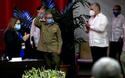 Cuba, Raúl Castro si dimette da segretario del Partito comunista