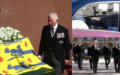 Funerali del principe Filippo, l'omaggio al Duca di Edimburgo. Le foto