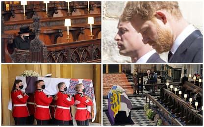 Principe Filippo, i funerali a Windsor in forma privata