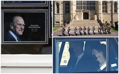 Principe Filippo, i funerali a Windsor in forma privata. DIRETTA