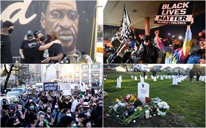 Usa, condannato per omicidio ex agente che provocò la morte di Floyd