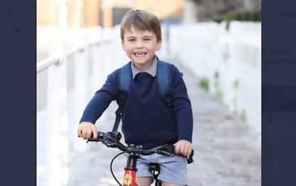 Louis di Cambridge compie 3 anni: foto del primo giorno di asilo