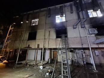 Iraq, incendio in ospedale con pazienti Covid: 82 morti. VIDEO