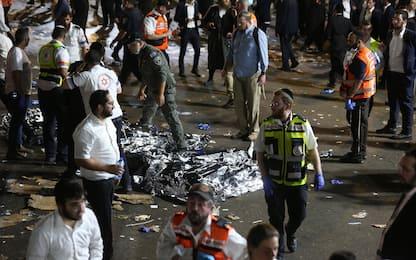 Israele, calca a evento religioso: 45 morti e 150 feriti. FOTO
