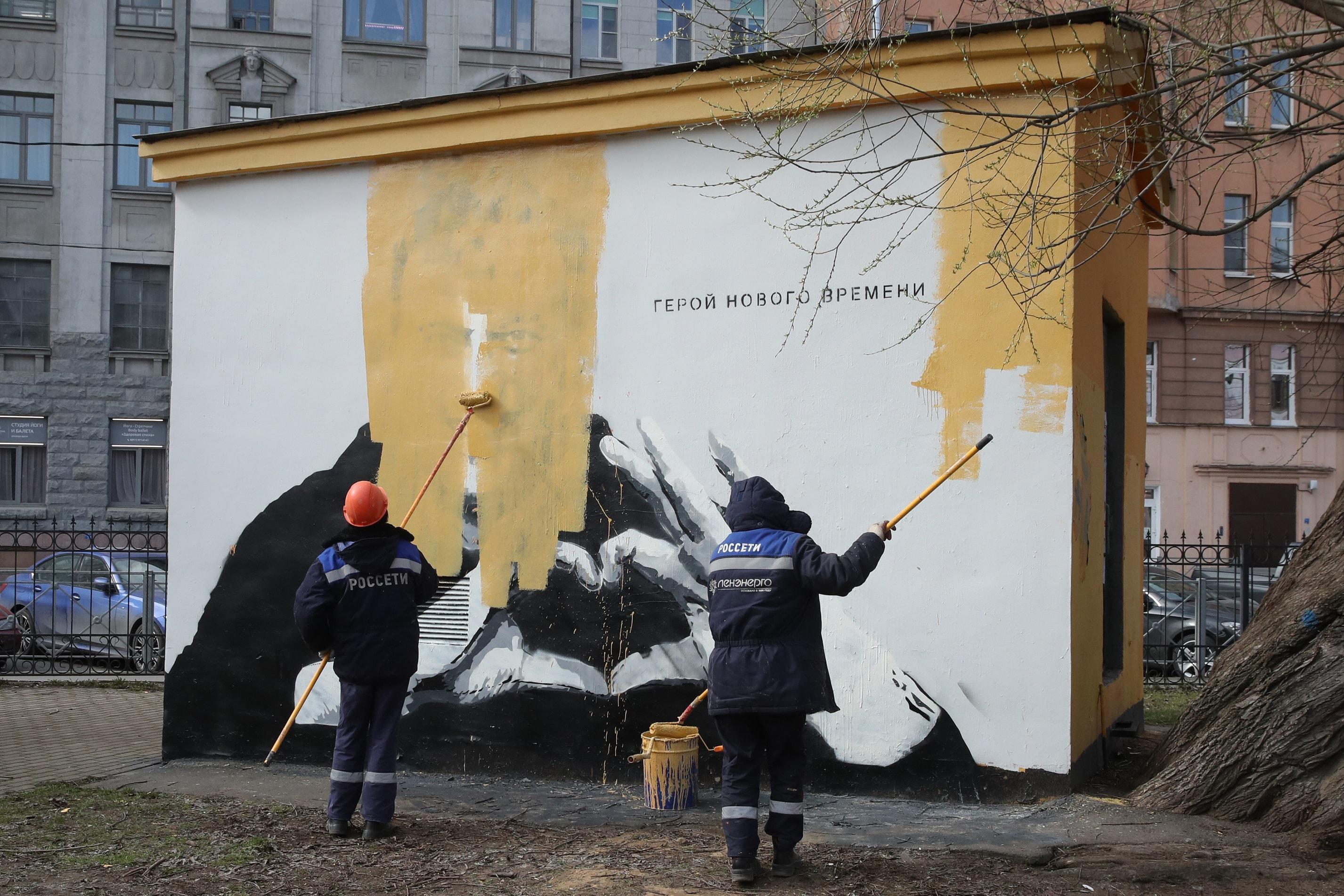 Navalny murales