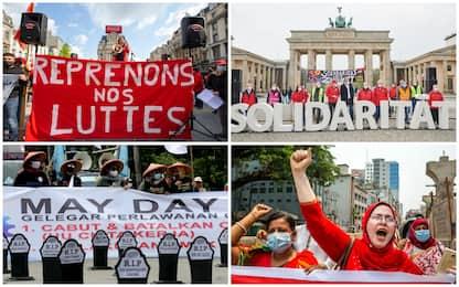 1 maggio, le immagini della Festa dei lavoratori in tutto il mondo