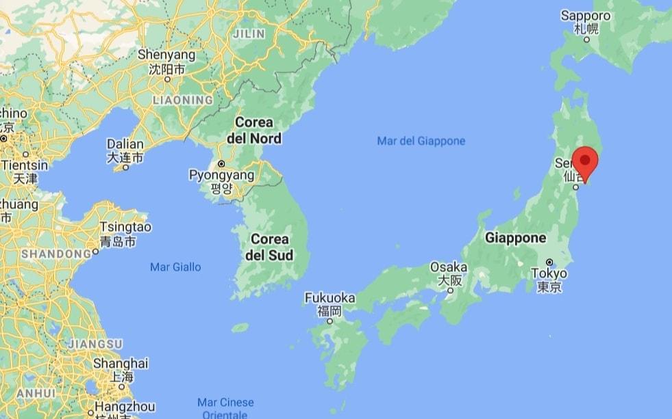Cartina Mondo Orientale.Giappone Mappa Mondo