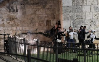 Scontri Gerusalemme
