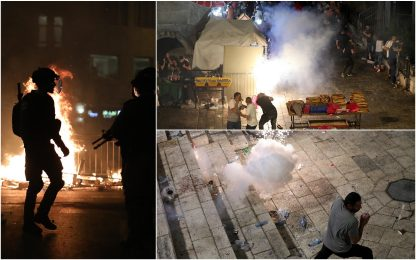 "Gerusalemme, ancora scontri: almeno 100 feriti. Papa: ""Basta violenze"""