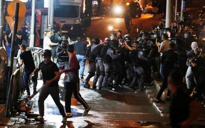 Israele, nuovi scontri sulla Spianata delle Moschee a Gerusalemme