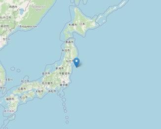 Terremoto in Giappone, scossa di magnitudo 6,1 vicino Fukushima