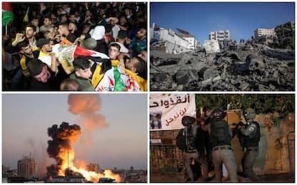 Razzi da Gaza su Tel Aviv. Raid di Israele distrugge Torre dei media