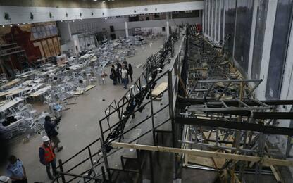 Israele, crolla tribuna dentro sinagoga: due morti e oltre 130 feriti