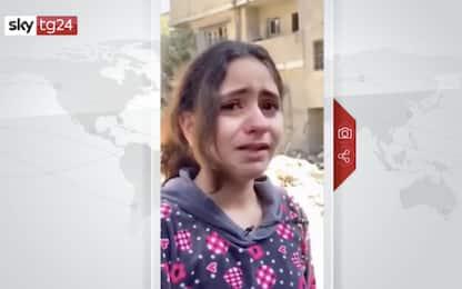 "Israele-Gaza, bimba palestinese: ""Vorrei aiutare, ma ho solo 10 anni"""