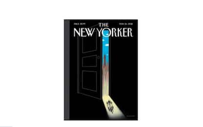 """La copertina del """"New Yorker"""" sul ritorno alla normalità"""