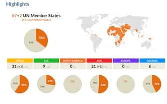 La mappa dell'Ilga sulla situazione dei diritti LGBTQ+ nel mondo