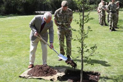 Regina Elisabetta, Carlo: Piantate alberi per i 70 anni del regno