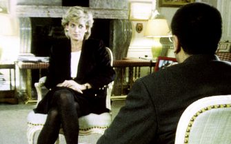 Handout file photo dated 20/11/95 of Diana, Princess of Wales, during her interview with Martin Bashir for the BBC.
