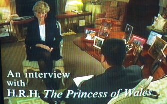 Tv Pictures Of Lady Diana Being Interviewed By The B.B.C.  (Photo by Mathieu Polak/Sygma via Getty Images)
