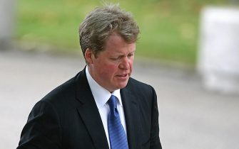 Earl Spencer, brother of the late Diana, Princess Of Wales arrives for the Service of Thanksgiving for the life of Diana at the Guards' Chapel, in London, 31 August 2007. Prince William and Prince Harry organised the Thanksgiving Service to commemorate the life of their mother on the tenth anniversary of her death. AFP PHOTOLewis Whyld/WPA POOL (Photo credit should read LEWIS WHYLD/AFP via Getty Images)