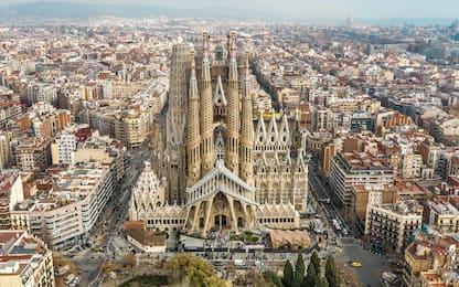Barcellona, riapre nei fine settimana la Sagrada Familia