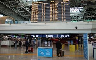 """Stop quarantena paesi UE, turisti """"finalmente era ora"""". A Fiumicino i viaggiatori europei apparsi soddisfatti."""