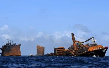 Sri Lanka, affonda nave cargo: si teme disastro ambientale